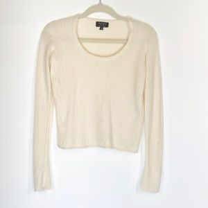 Rag & Bone Cream 100% Cashmere Crewneck Sweater